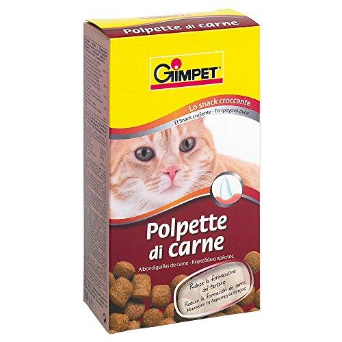 GIMPET Snack per gatto polpettine di carne gr. 100 - Snack per gatto