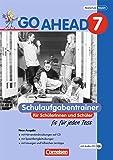 Go Ahead - Ausgabe für die sechsstufige Realschule in Bayern: 7. Jahrgangsstufe - Schulaufgabentrainer - Neubearbeitung, inkl. CD und Lösungen - Karin Lechner