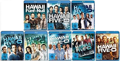 Hawaii Five-O - Staffel 1+2+3+4+5+6+7+8 im Set - Deutsche Originalware [45 Blu-rays]