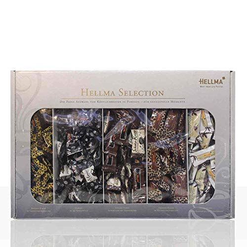 Hellma Selection 5 x 40 Stück 200 g (ohne Waldbeere), 1er Pack (1 x 0.2 kg).
