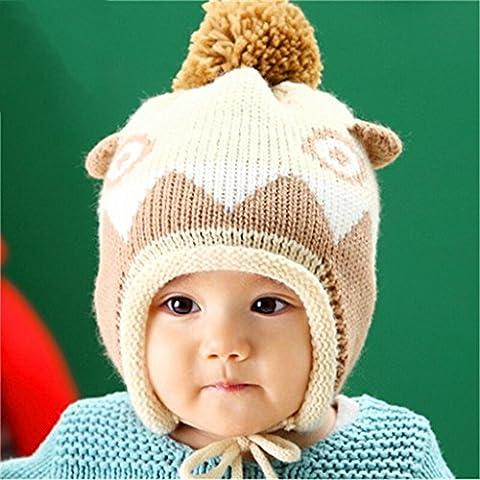 Guo Baby dinosauro Wool Cap Uomini E