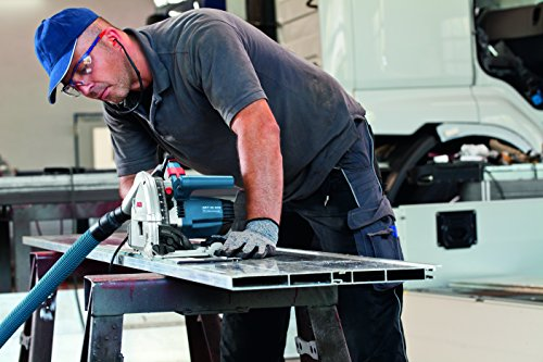 Bosch Professional Tauchsäge GKT 55 GCE, Kreissägeblatt Best for Wood, 1400 Watt-Motor, 165 mm Saägeblattdurchmesser, L-Boxx, 1 Stück, 0601675001 - 2