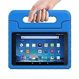sztook Fire HD 102015Étui de protection enfants antichocs avec poignée convertible Light Poids Super Support Étui Housse pour Amazon Fire HD écran 25,4cm tablet-black