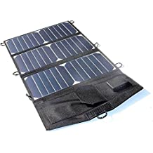 Generic Sunpower 21W Solar Panel Charger For iPhone/Mobile Power Bank Foldable Universal Outdoor Dual USB High Quality