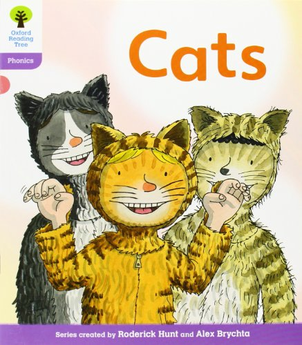Oxford Reading Tree: Level 1+: Floppy's Phonics Fiction: Cats