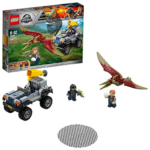 LEGO Jurassic World - La course-poursuite du Ptéranodon - 75926 - Jeu...