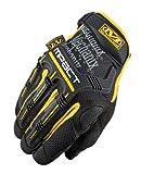 Mechanix Wear M-Pact Handschuhe Schwarz / Gelb Größe XL