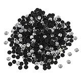 Perlin Hotfix Strasssteine, AAA Qualität, Zum Aufbügeln 2mm 3mm 4mm 5mm 6mm Glitzersteine Rhinestone Glass Strass Auswahl (4mm SS16 2880stk, Silber)