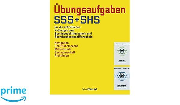 Sport Begleitheft SSS und SHS Sportseeschifferschein Sporthochseeschifferschein Buch Sachbücher