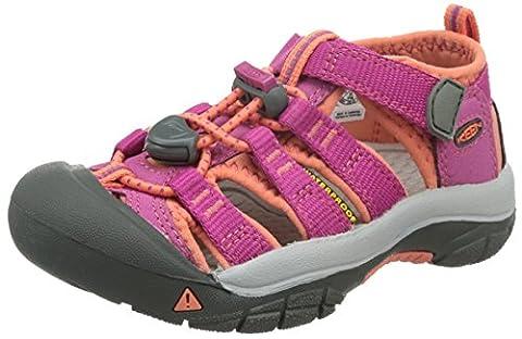 Keen Newport H2, Unisex Kids' Hiking Sandals, Pink (Very Berry/Fusion Coral), 5 UK (38 EU)