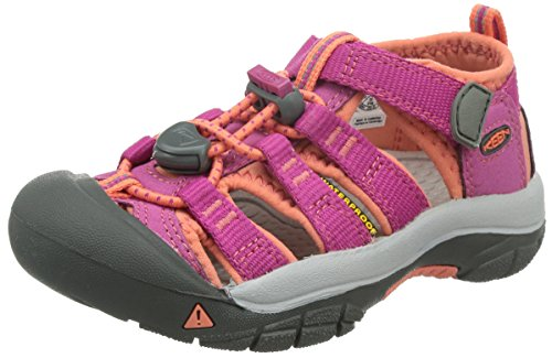 Keen Newport H2, Unisex-Kinder Trekking & Wanderhalbschuhe, Pink (Very Berry/Fusion Coral), 32/33 EU (13 UK) (Fusion 13 Schuhe)