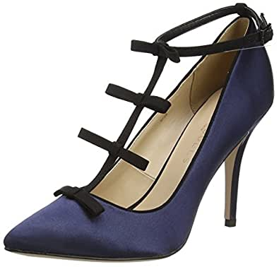 Paper Dolls Women's Marigold Pumps Blue Size: 4