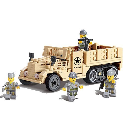 Century tracks the best amazon price in savemoney kazi building block century military m2 half track usaf 82003 205pcs by kazi fandeluxe Image collections