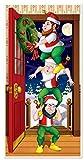 Best Beistle Of The Doors - Beistle Christmas Elves Door Cover, 30-inch by 5-Feet Review