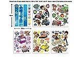 Walltastic Paw Patrol Kit Decorazione Stanze, Fumetti, Pvc, Multicolore, 37.5x8x18 cm