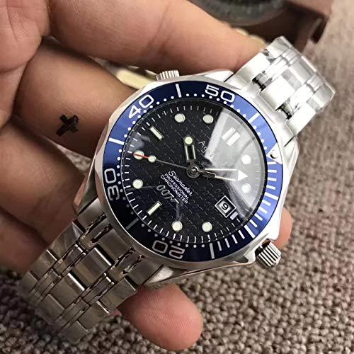 Iwhsb orologi da polso automatici di marca orologio meccanico automatico orologio da parete in ceramica nera con vetro zaffiro orologio sportivo luminoso con data 5