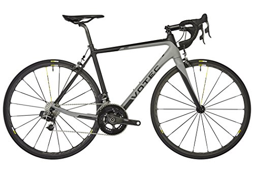 VOTEC VRC Evo – Carbon Road – Black-Grey 2018 Rennrad