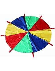 MMRM juguete del niño al aire libre Deporte de paracaídas 3 metros,paraguas del arco iris