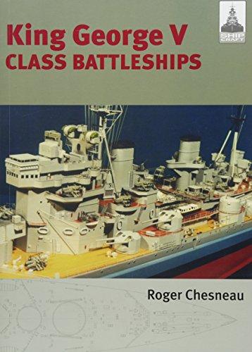 King George V Class Battleships (Shipcraft, Band 2) - A/v-kit Modell