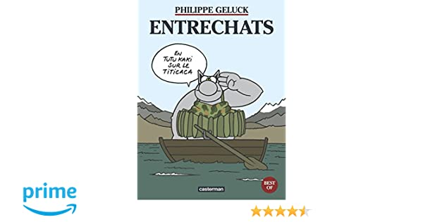 Amazon.fr le chat best of tome 4 : entrechats philippe geluck