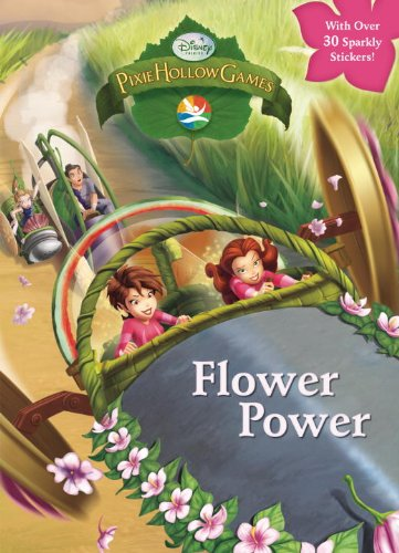 Flower Power (Disney Fairies) (Hologramatic Sticker Book)