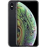موبايل ابل ايفون XS ماكس بتطبيق فيس تايم، وذاكرة داخلية 256 جيجابايت وذاكرة رام 4 جيجابايت 4G LTE، بشريحة اتصال واحدة مدمجة -