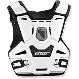 Thor Sentinel Kinder Motocross Brustpanzer Offroad Enduro Cross Quad Schwarz Weiss (Weiss)