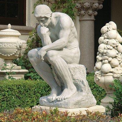 Design Toscano Rodins Denker-Statue: Anwesen