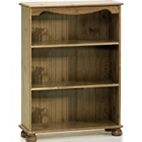 Steens Pine Bookcase with 2 Shelves