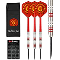 Red Dragon Manchester United Football Club Flights Tungsten Darts Checkout Card