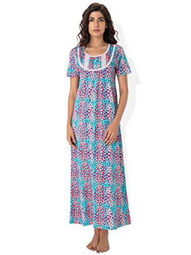 Prettysecrets Cotton Lace Trim Nightdress