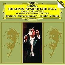 Brahms: Symphony 2 / Haydn Variations