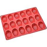 Moule à gâteau en silicone résistant à la chaleur pour 18 biscuits