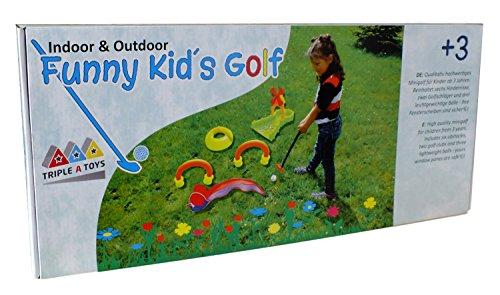 Triple A Toys 20093Set de Golf Funny Kids 10T