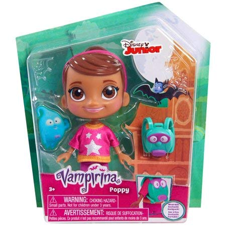 Vampirina - Muñeca Básica Poppy, multicolor (Bandai 78107)