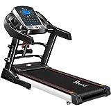 Powermax Fitness TDM-125S (2.0 HP), Smart Run Function, Auto Lubrication, Motorized Treadmill for Cardio Workout