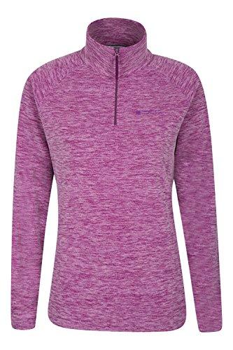mountain-warehouse-snowdon-melange-womens-fleece-purple-14