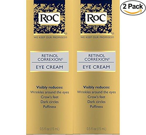 Roc rétinol Correxion Crème contour des yeux 14 grammes (lot de 2)