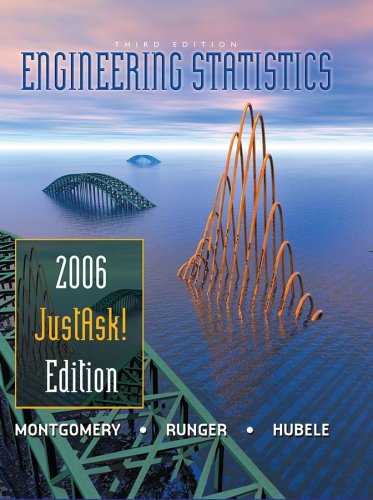 Engineering Stats 3e, 2006 Justask Edtn: JustAsk! Edition
