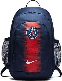 Nike Paris Polyester Saint-Germain Stadium Backpack (Midnight Navy White) 8ed5c0f121