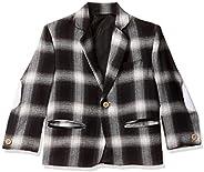 Ram Paw Boys' Single Breasted Regular Fit Blazer (Bl