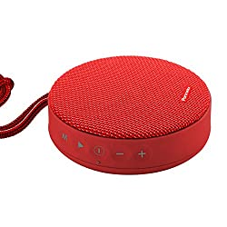 Portronics POR-864_Sound Bun 6W Bluetooth Speaker with Mic (Red)
