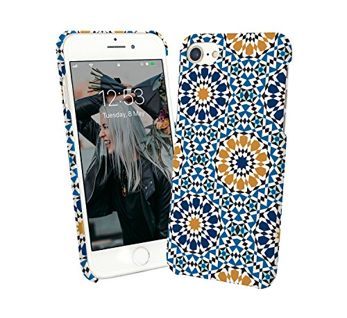 Summer Colorful Morocco Pattern Protective Case Cover Hard Plastic for Huawei P20 Pro (2018) Funny Gift Christmas for Him for Her Pattern Hard Case Cover