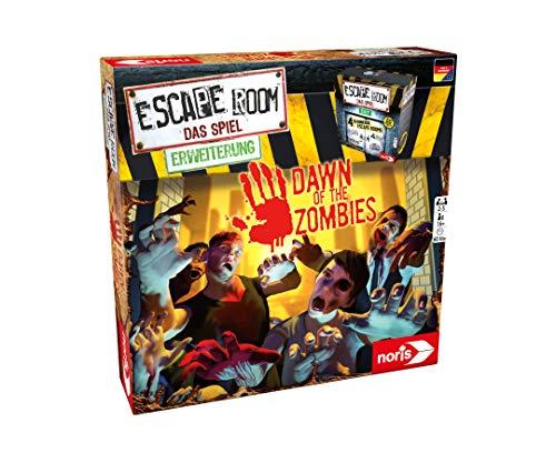 Noris 606101869 Escape Room Erweiterung Dawn of The Zombies, Ab 16 Jahren-Nur mit dem Chrono Decoder Spielbar