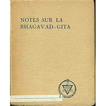 Notes sur la Bhagavad-Gita