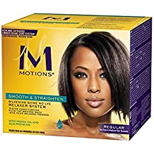 Motions Smooth and Straighten Silkening Shine No-Lye Relaxer System by Motions