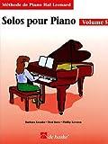 Telecharger Livres Solos Pour piano Volume 5 (PDF,EPUB,MOBI) gratuits en Francaise