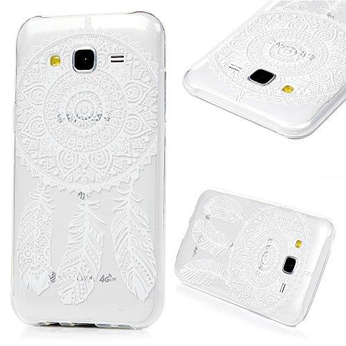 Cover Custodia per Samsung Galaxy J5 2015 TPU Ultra Sottile Leggero Flessibile Liscio KASOS Case (88 Camo)