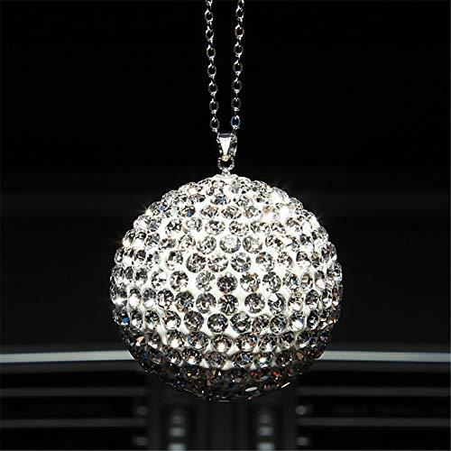 ystal Bling Ball Anhänger Ornament Strass Dekoration Indoor Crystal Ball Glücksbringer Anhänger, A ()