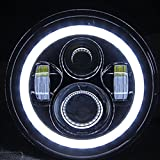 #10: Spidy Moto H4 Bullet Projector Daymaker LED Light Headlight Royal Enfield Classic 350